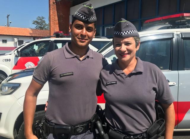 policial salvou colega há quase 20 anos