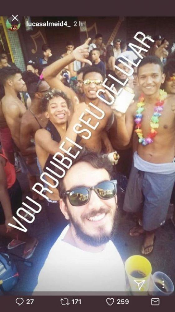 "Após postagem racista no carnaval, jovem foi demitido: ""conduta inadmissível"" 1"