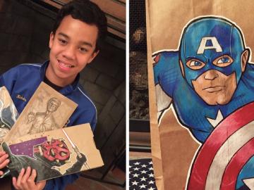 """Garoto autista faz desenhos que parecem fotografias: """"ajuda na minha ansiedade"""" 13"""