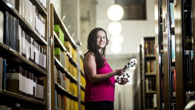 Rafaela Salgado Ferreira é uma cientista brasileira