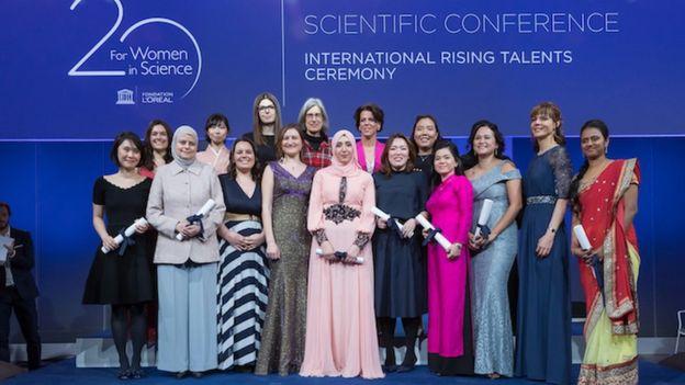 Rafaela Salgado Ferreira é uma cientista brasileira e ganhou prêmio