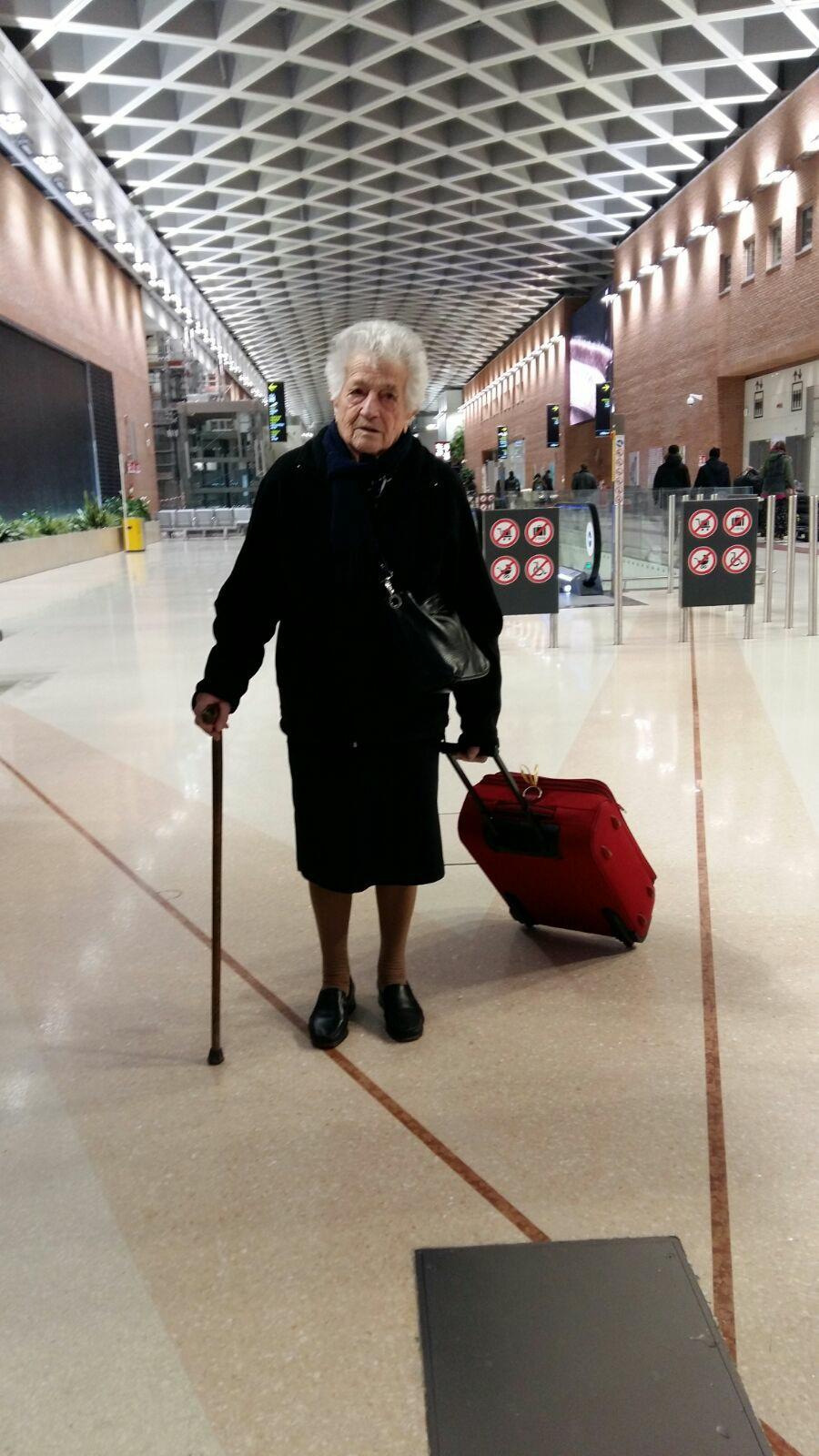 Aos 93 anos, senhora vai para a África trabalhar como voluntária 2