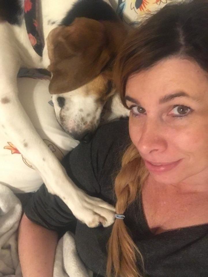 Cachorra resgatada detecta câncer em nariz da dona e salva sua vida 2