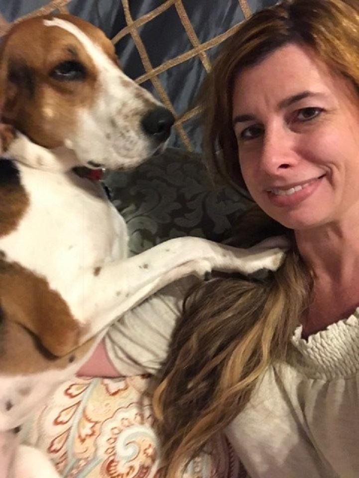 Cachorra resgatada detecta câncer em nariz da dona e salva sua vida 4
