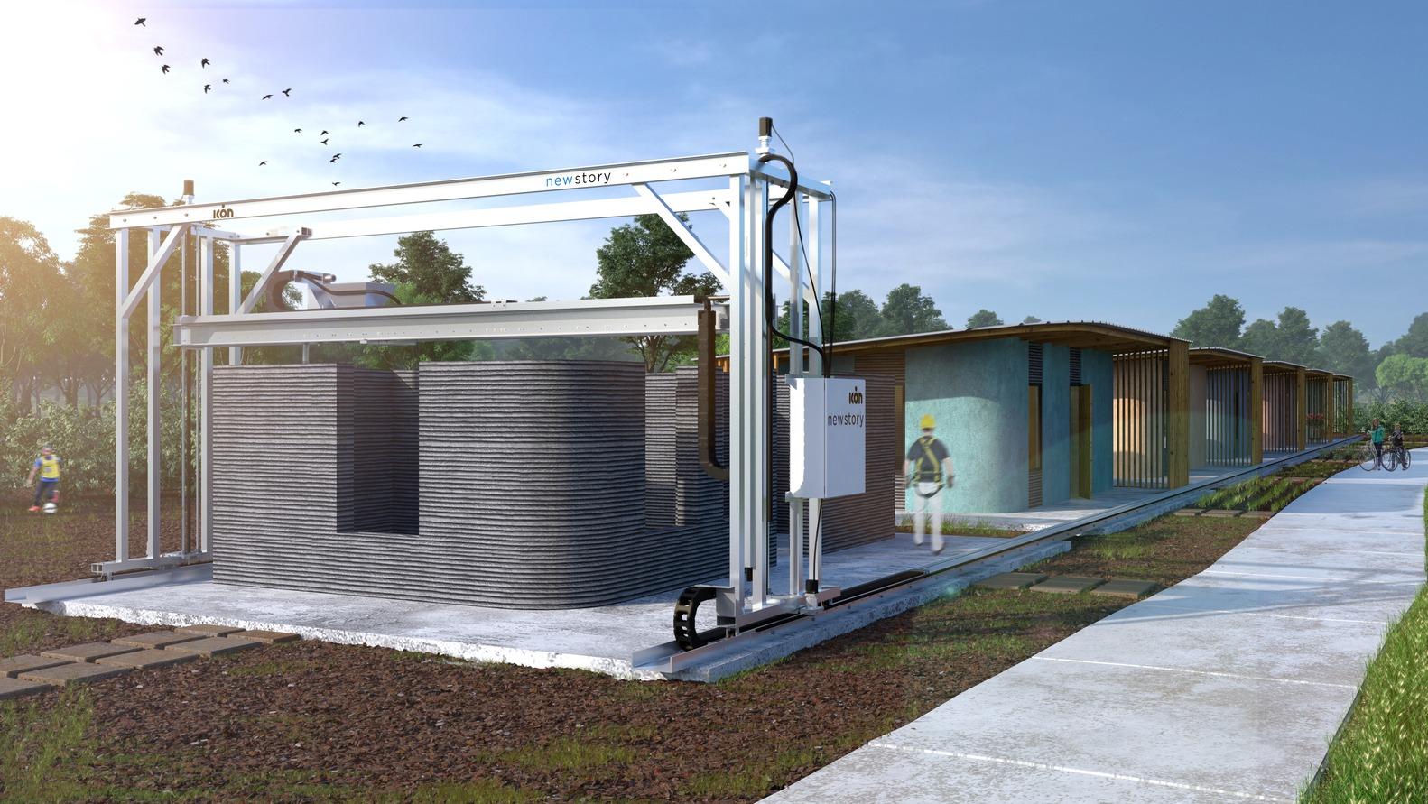 Um bairro inteiro com casas impressas em 3D será construído para famílias carentes 6