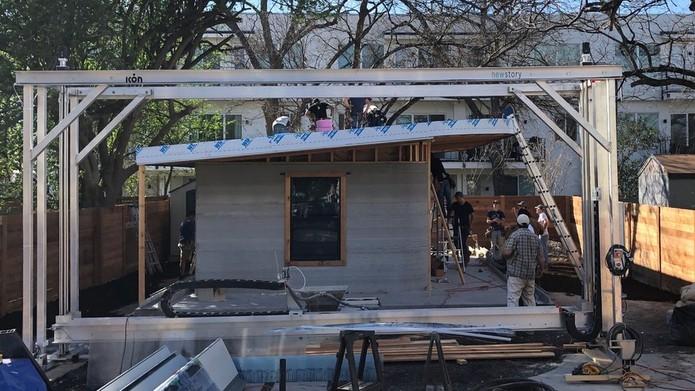 Um bairro inteiro com casas impressas em 3D será construído para famílias carentes 9