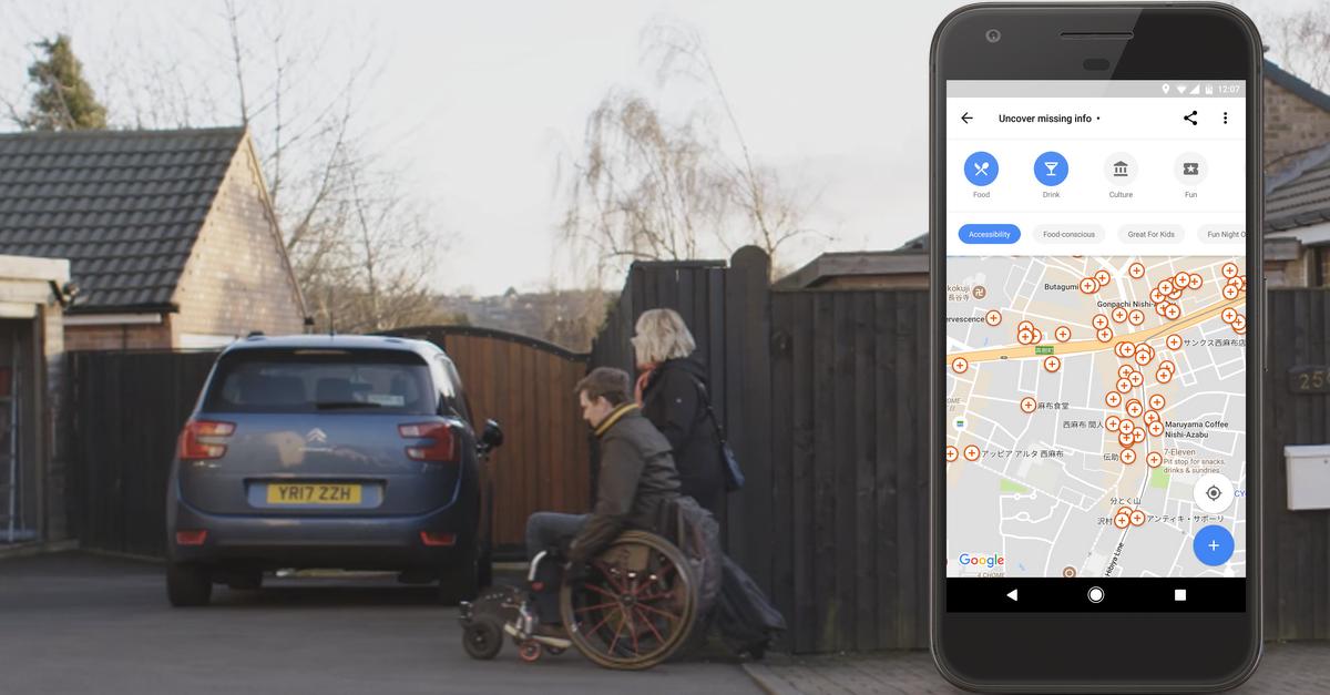 Google Maps acessível: aplicativo passa a ter opção para quem usa cadeira de rodas 1