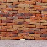 muro de tijolos