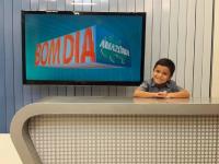 garoto autista jornalista