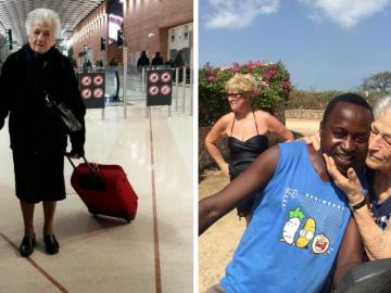 Aos 93 anos, senhora vai para a África trabalhar como voluntária 12