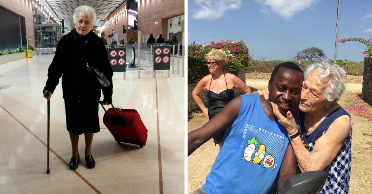 Aos 93 anos, senhora vai para a África trabalhar como voluntária 5