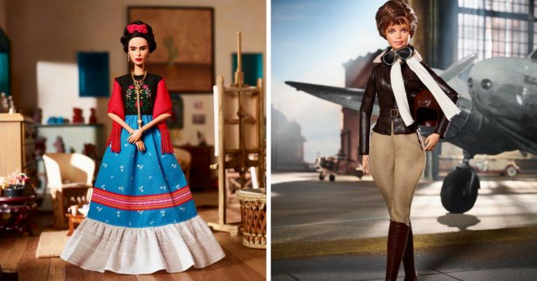 Mattel cria linha de Barbies especial para homenagear mulheres que fizeram história 1