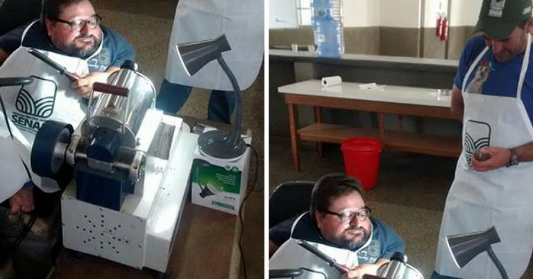 Aluno com deficiência faz depoimento emocionado ao professor que adaptou equipamentos para ele 1