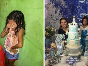 Garotinha que chorou no aniversário ganha festa dos sonhos e se emociona novamente 26