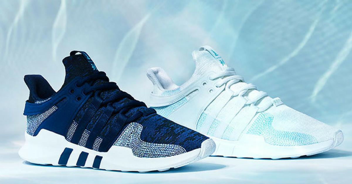 Adidas já vendeu 1 milhão de tênis feitos com plástico retirado dos oceanos 1