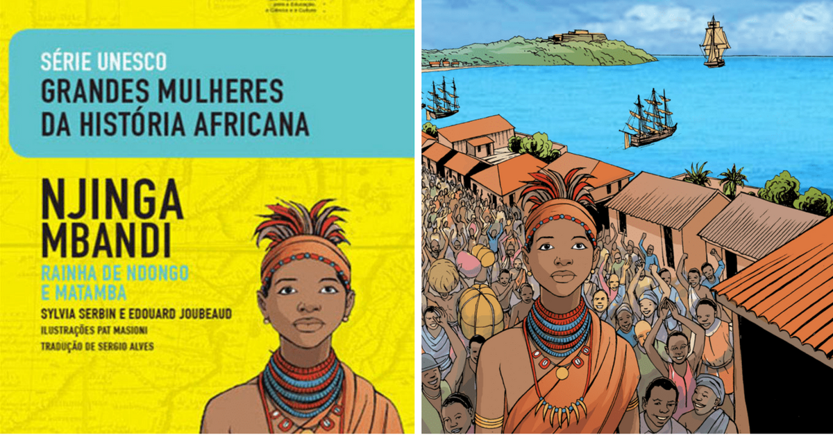 Baixe material pedagógico sobre Mulheres na História da África, produzido pela Unesco 6