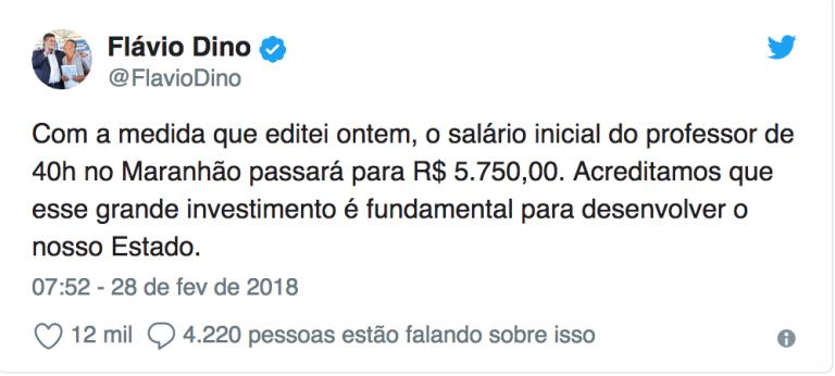 Em medida histórica, salário de professor no Maranhão passa a ser o mais alto do Brasil 1