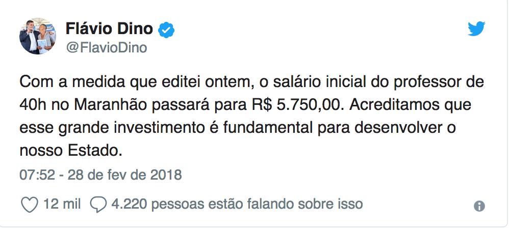 Em medida histórica, salário de professor no Maranhão passa a ser o mais alto do Brasil 2