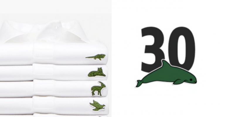 Lacoste troca os tradicionais crocodilos por espécies ameaçadas em coleção especial 1
