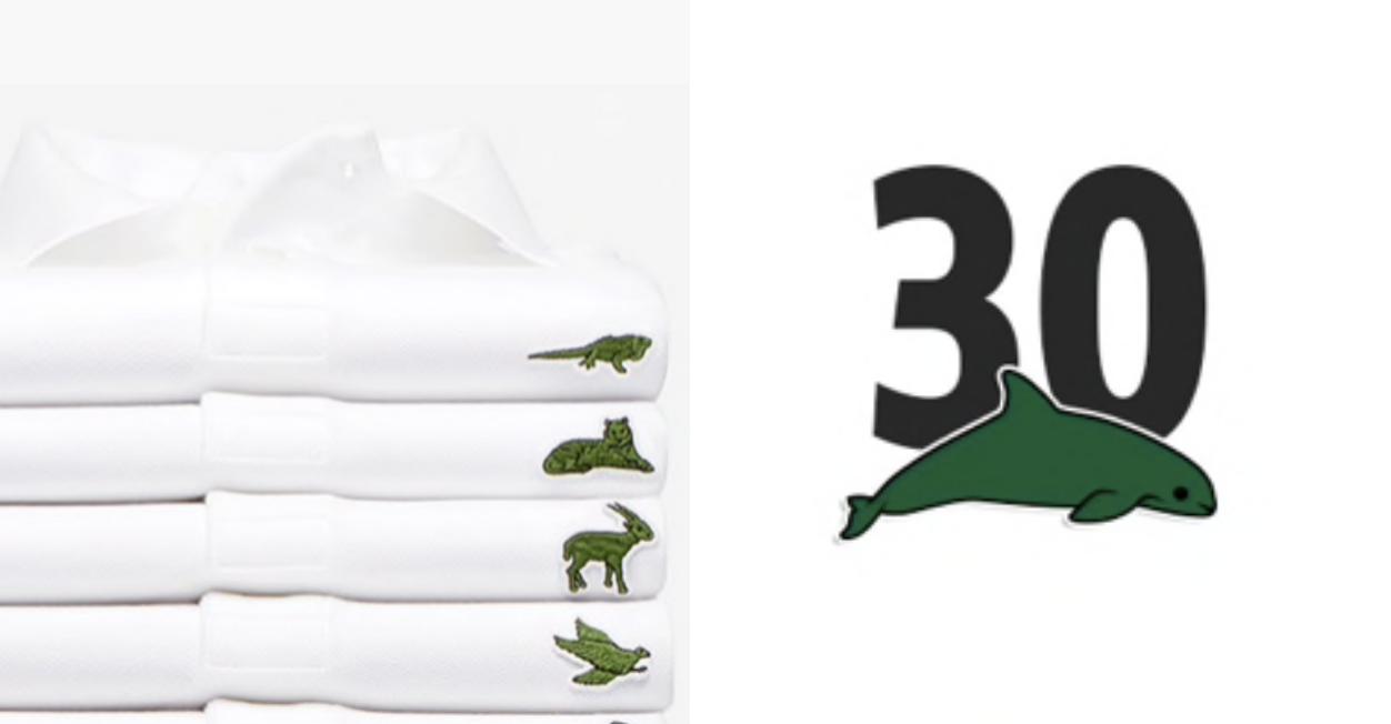 Lacoste troca os tradicionais crocodilos por espécies ameaçadas em coleção especial 2
