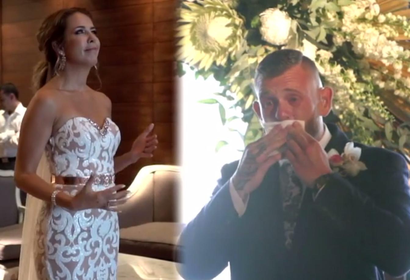 Noiva faz homenagem emocionante e canta em Libras para seu noivo no casamento 2