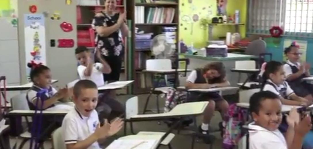 Eletricidade de escola em Porto Rico volta a funcionar graças a um garoto de 7 anos 2