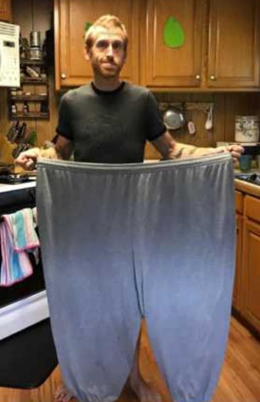 Homem perde mais de 160kg por medo de deixar filho autista sem pai 14