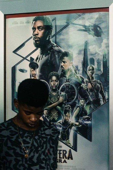 """Jovem decide voltar a estudar depois de assistir """"Pantera Negra"""" 1"""