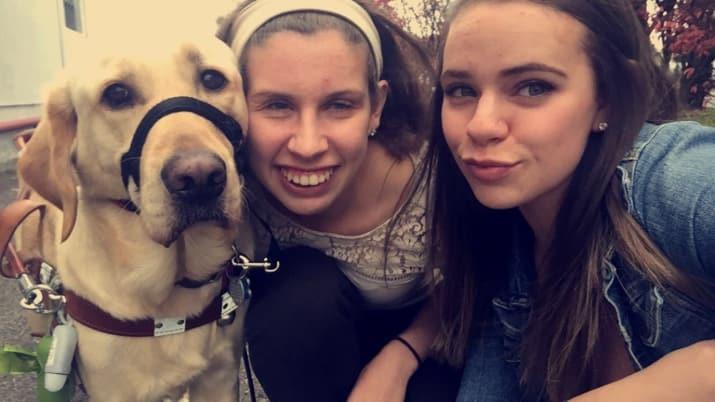 Cão-guia leva dona a Pet Shop toda vez que vão em Shopping 3