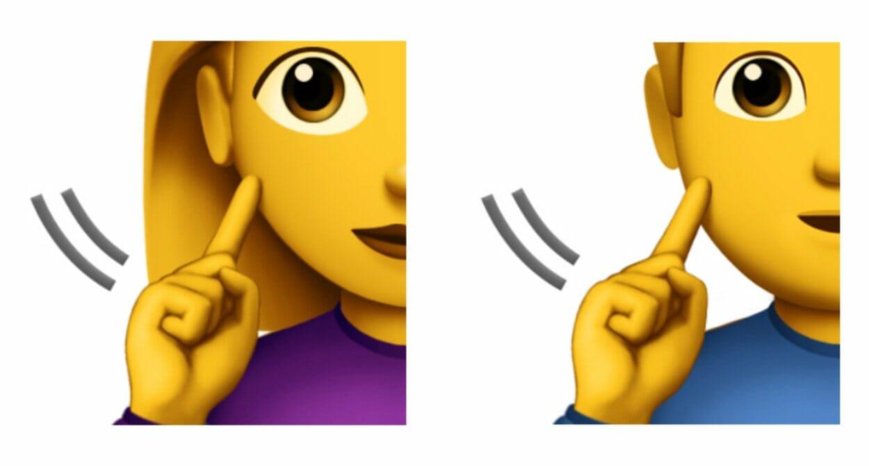 emojis de pessoas com deficiência