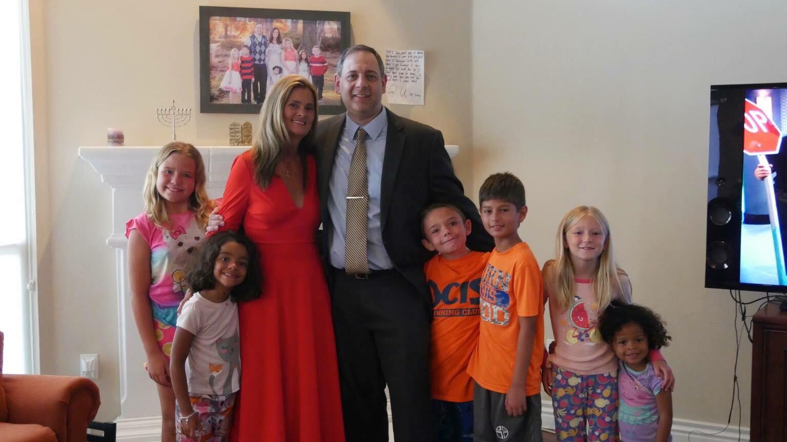 adoção família