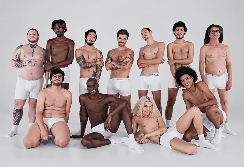 """Marca de cuecas quebra o estereótipo do """"machão"""" e faz campanha com homens reais 1"""