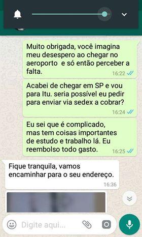 whatsapp história bolsa