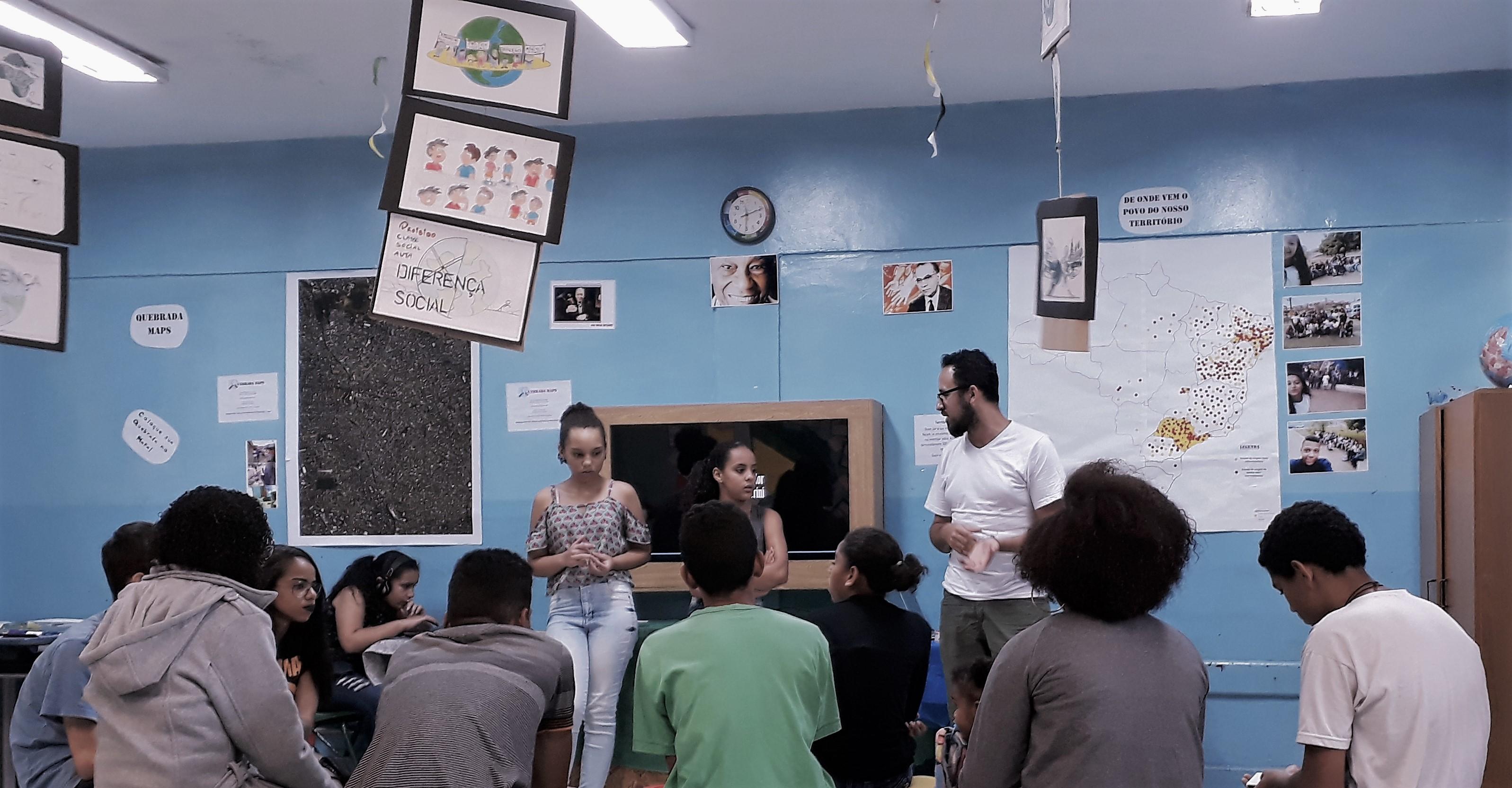 """Em SP, professor cria """"Quebrada Maps"""" para ensinar geografia de maneira diferente 5"""