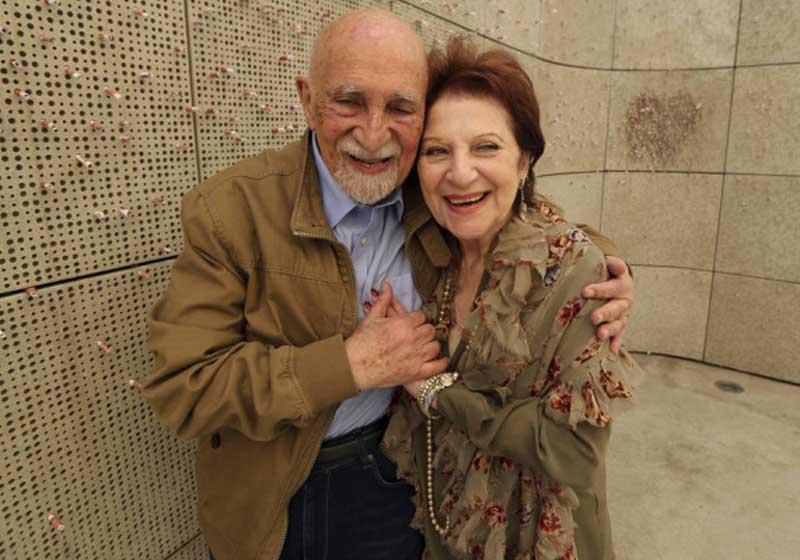 76 anos depois de terem sido separados pelo Holocausto eles se reencontraram 2