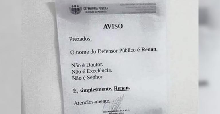 defensor público Maranhão