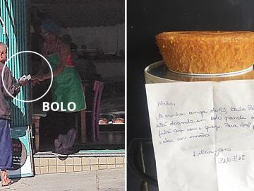 empresária pedaço de bolo BH