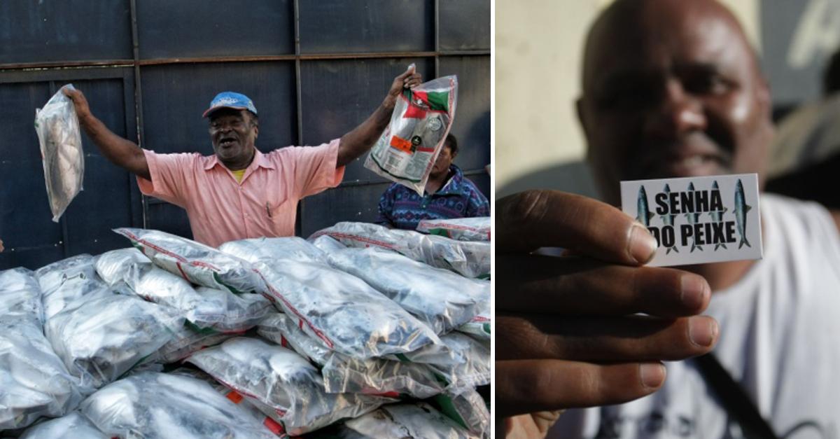 Comerciante em BH doa 3 toneladas de peixe toda Semana Santa 2