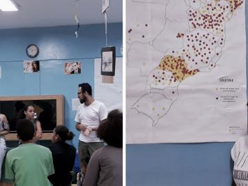 """Em SP, professor cria """"Quebrada Maps"""" para ensinar geografia de maneira diferente 2"""