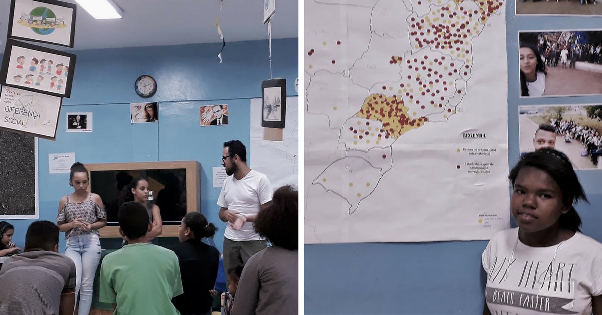 """Em SP, professor cria """"Quebrada Maps"""" para ensinar geografia de maneira diferente 1"""