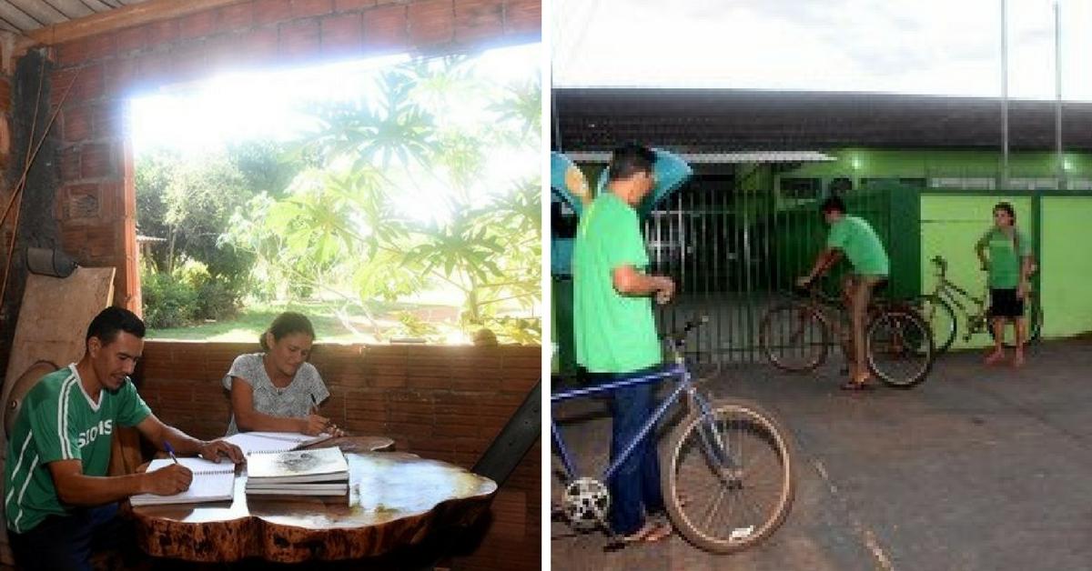 Família muda de cidade para voltar a estudar em busca de uma vida melhor 2