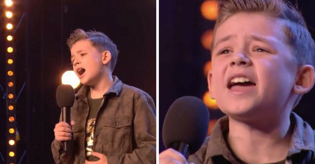 Menino autista emociona jurados ao cantar música de Jackson 5 em show de talentos 5