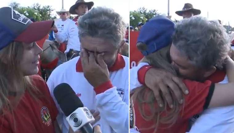 pai-filha-entrevista-emoção-paraíba
