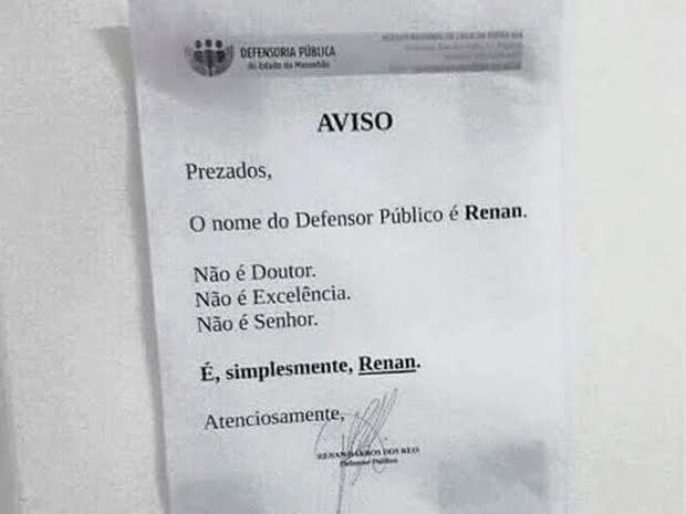 defensor público no Maranhão