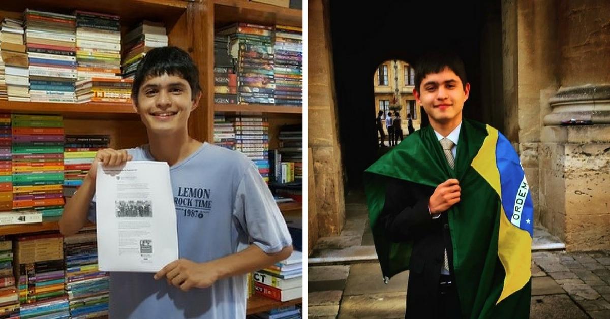 Aluno brasileiro de escola pública é aprovado nas 4 melhores universidades do mundo aos 17 anos 1