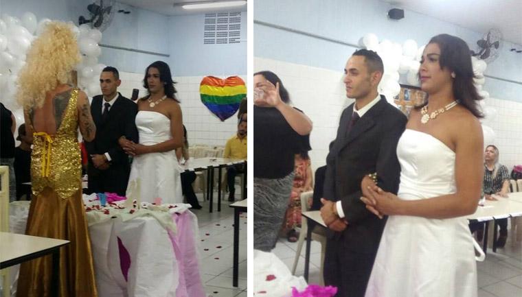 Após casamento, casal LGBT deixa as ruas e ganha casa própria 1