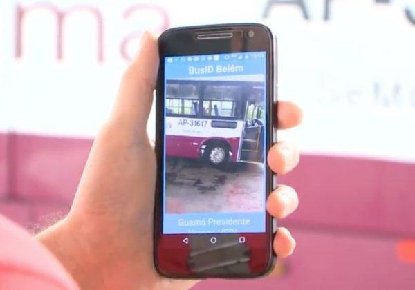 aplicativo deficientes visuais ônibus