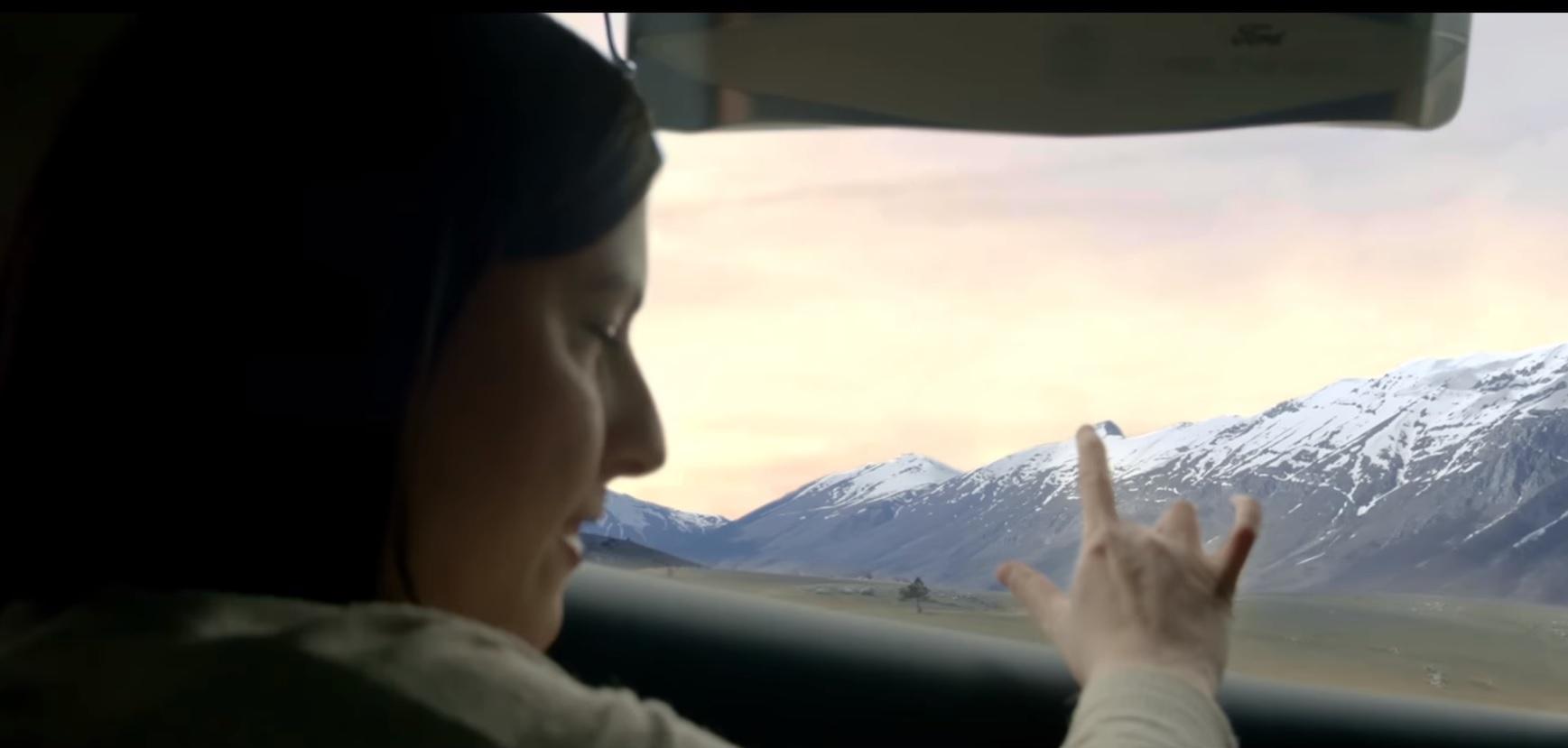 passageiros cegos vendo paisagem