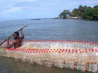 garrafas pet canoa