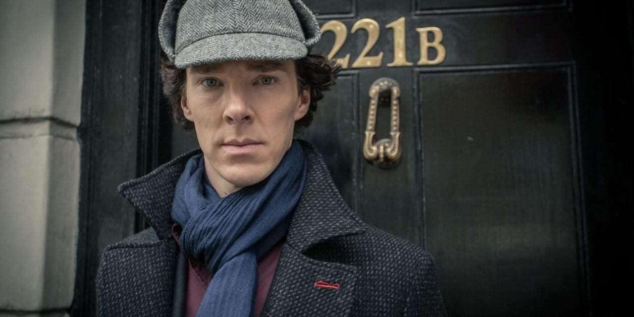 Benedict Cumberbatch na série Sherlock